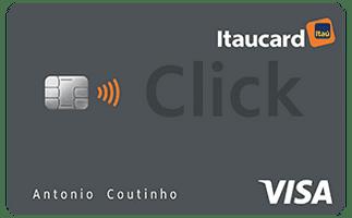 cartão itaucard click